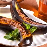 Банан на мангале Фото