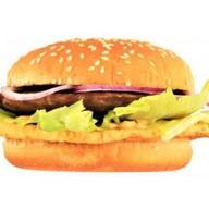 Бургер с яйцом Фото