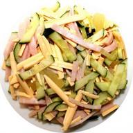 Салат Купеческий с салями Фото