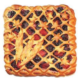 С лесными ягодами (сдобное) - Фото
