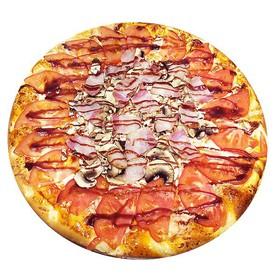 Пицца с беконом - Фото