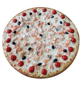 Пицца с семгой и креветками - Фото