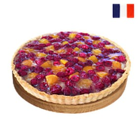 Тарт с малиной и абрикосами (за сутки) - Фото