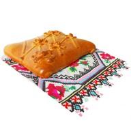 С мясом и картофелем (дрожжевое) Фото
