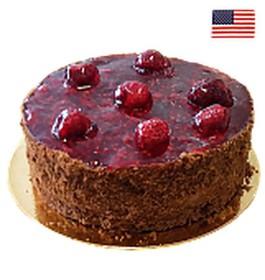 Торт Брауни с малиной (заказ за сутки) - Фото
