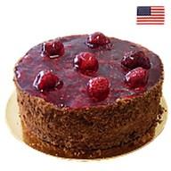 Торт Брауни с малиной(заказ за 48 часов) Фото