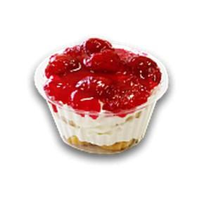 Десерт кремовый с клубникой (за сутки) - Фото