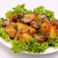 Полянка - картофель с грибами Фото