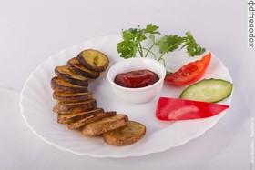 Картофель печеный - Фото