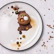Шоколадно-тропический чизкейк Фото