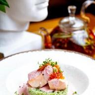 Филе лосося в соусе мартини Фото