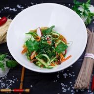 Сочный салат с чукой Фото