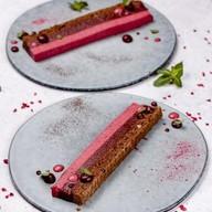 Десерт лесные ягоды Фото