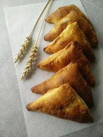 Фуршетные мини-пирожки с яблоком - Фото