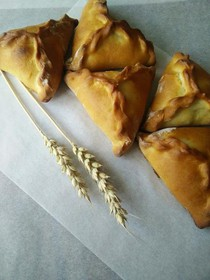 Фуршетные мини-пирожки с горбушей - Фото