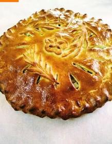Пирог со сливой - Фото