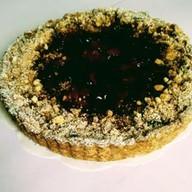 Пирог с брусникой на песочном тесте Фото