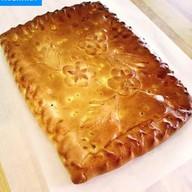 Пирог с картофелем и беконом Фото