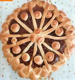 Пирог с фруктовым повидлом - Фото