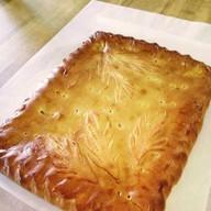 Пирог со свежей капустой и яйцом Фото