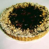 Пирог из клубники на песочном тесте Фото