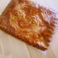 Пирог с мясом и рисом Фото