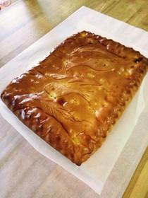 Пирог с горбушей и капустой - Фото