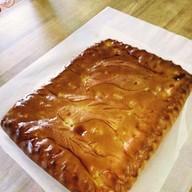 Постный пирог с горбушей и картофелем Фото
