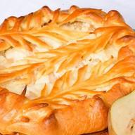 Пирог с творогом и грушей Фото