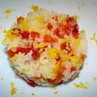 Каша рисовая с курагой Фото
