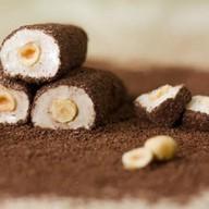 Рахат-лукум рулет с какао и фундуком Фото
