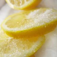 Лимон с сахаром Фото