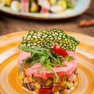 Салат с уткой и печеными овощами Фото