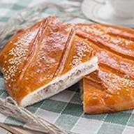 Пирог с картофелем, мясом и грибами Фото