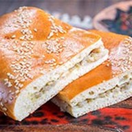 Пирог с палтусом Фото