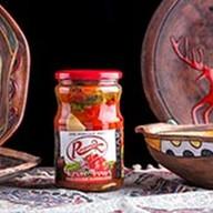 Перец красный маринованный Фото
