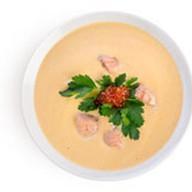 Суп-крем из семги Фото