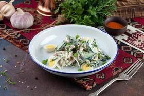 Салат из кальмаров - Фото