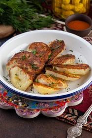 Картофель печеный на углях - Фото