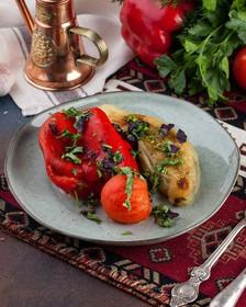 Шашлык овощной - Фото