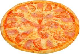 Пицца с ветчиной и сыром - Фото