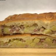Домашний пирог с картофелем Фото