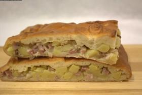 Домашний пирог с картофелем - Фото