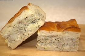 Пирог с минтаем - Фото