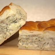 Пирог с минтаем Фото