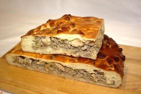 Пирог Старорусский с тремя видами мяса - Фото