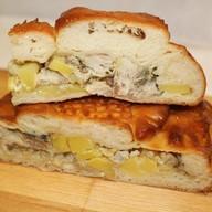 Пирог с терпугом и картофелем Фото