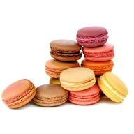 Французское печенье макарон Фото