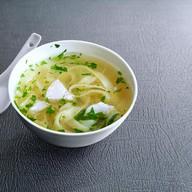 Суп лапша с курочкой Фото