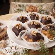Муравейники с грецким орехом и маком Фото